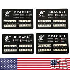 10 100 Dental Ortho Brackets Braces Mini Rothmbt Slot022 3453 Hooks Metal