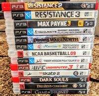 LOT OF 13!! Sony PlayStation 3 PS3 Video Game Lot Bundle!