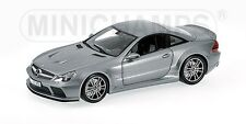 MINICHAMPS 100 038120 MERCEDES BENZ SL65 AMG model car grey metallic 2009 1:18th