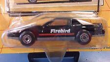1989 Matchbox Car & Driver Pontiac Firebird in Black