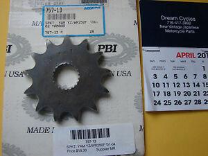 Yamaha WR250 YZ125 YZ250 NOS Front Sprocket PBI 757-13 Chris Products