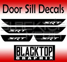 SRT Dodge Charger Vinyl Door Sill Decals 2012 2013 2015 2016 2017 2018 HEMI 392.