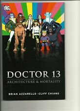 DOCTOR 13 ARCHITECHURE AND MORTALITY TPB! VF-NM!