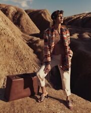 New H&M Studio S/S Studio Boot Frayed Raw No Waist 8 Jeans Coachella Re/Done