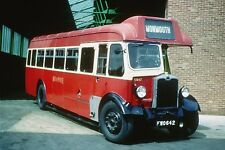 RED & WHITE FWO642 6x4 Quality Bus Photo