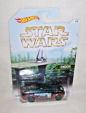 HW 2016 STAR WARS PLANET SERIES ENDOR Wal-Mart Exclusive HW Pursuit 7/8 DJL10
