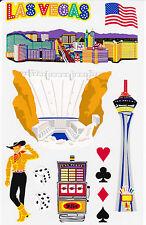 Mrs. Grossman's Giant Stickers - Las Vegas - Landmark - Paper Whisper - 2 Strips