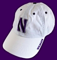 Northwestern Wildcats Hat NCAA Team Slouch Cap Hat NEW!