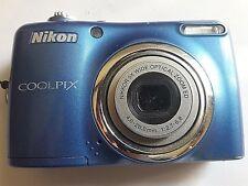 Nikon coolpix L23 10.1 MP con scheda SanDisk 4GB borsa trasporto omaggio