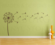 Dandelion Flower Large Mural Wall Decal Vinyl Sticker Art Decor Decoration G61