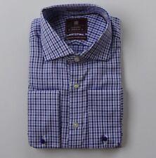 EX m&s Algodón Lujo Ajuste Regular Camisas VARIOS COLORES 14.5-18.5