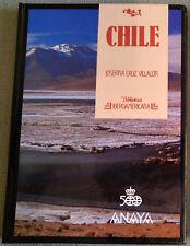 Biblioteca Iberoamericana Anaya  CHILE Cruz de Villalon  N°31