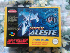 SUPER ALESTE 100% ORIGINAL FAH PAL JEU SNES SUPER NINTENDO