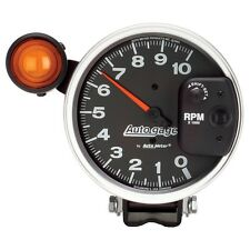 "Auto Meter 233904 Gauge Tachometer 5"" 10,000 RPM Shift Lite Black Auto Gauges"