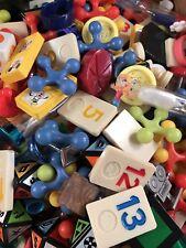 50 I Spy Small & Medium Board Game Piece Trinkets Supplies Grab Bag Dice Random