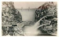 Hoover Dam/Colorado River Nevada & Washington D.C. Capitol Bldg Rppc P/C