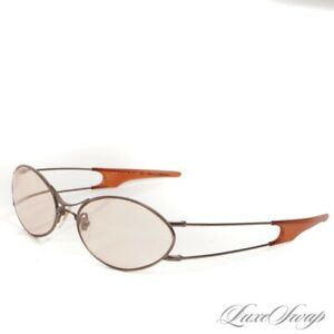 Line 3 Los Angeles Made in Japan Pure Titanium Space Age Double Arm Oval Glasses