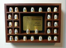 VTG Hummel Thimbles School Children Set of 28 with Display Box