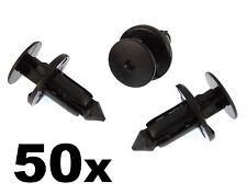 50 LEXUS & TOYOTA remaches de plástico para , rueda ARCOS & Umbral moldura clip