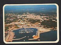 PORTO-VECCHIO (CORSE) VILLAS & PORT de PLAISANCE vue aérienne en 1984