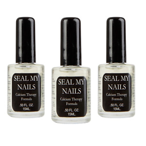 Dimples Seal My Nails Nail Strengthening Treatment with Calcium x3