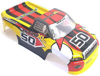 JLB51 1/10 Scale Nitro Electric RC Monster Truck Body Shell Cover Yellow