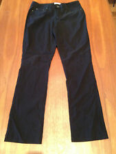 DKNY USA Black Stretch Sculpted High Rise Straight Leg Skinny Fit Jeans 12