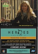 HEROES TV SHOW SERIES SEASON VOLUME 2 SUPER CON P2 PROMO TOPPS CARD KRISTEN BELL