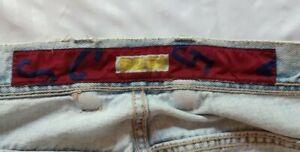 Vintage Faded Blue SC51 Denim Jeans 32 x 28.5