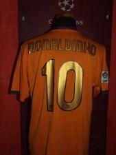 RONALDINHO 2006/2007 BARCELONA MAGLIA SHIRT CALCIO FOOTBALL JERSEY CAMISETA