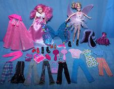 Sciamanico Ӝ Ʒ EX Club Fata Farfalla Barbie Set ✰ Abiti Accessori Vintage