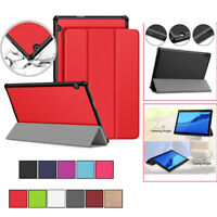 Premium Smart Flip Leather Magnetic Stand Cover Case For Huawei MediaPad T5 10.1