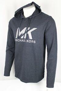 Michael Kors Men's Loungewear Hoodie Sweatshirt Navy Blue