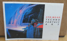 SIGNED Syd Mead Techno Fantasy Art Portfolio Artwork 52 Images Space Futuristic
