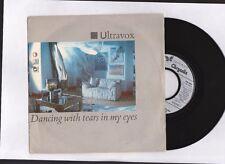 """ULTRAVOX  """" Dancing with tears in my eyes """" 1984  45tr 7'' Chrysalis vinyle"""