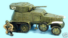 SHQ RV14 1/76 Diecast WWII Russian BA6/BA10 Armoured Car-Parts to Make Either