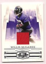 2007 Donruss Jersey Willis McGahee Baltimore Ravens #131/250