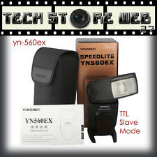 Yongnuo YN-560 EX 560EX TTL in SLAVE Flash Speedlite per Canon  550D 600D 650D