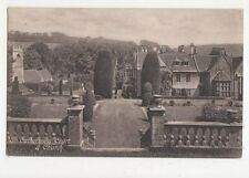 St Catherines Court & Chuch Bath 1910 Postcard 172a