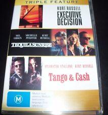 Executive Decision / Tequila Sunrise / Tango & Cash (Aust Region 4) DVD