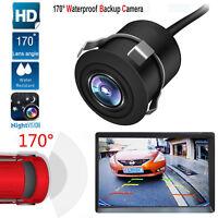 HQ 170° Car Rear View Camera Reverse Backup Parking Waterproof Night Vision CCD