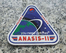 SpaceX Falcon 9 ANASIS-II Space Mission Republic of Korea Army Logo Patch sew on