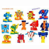 26 Pieces BOX ABC Robot Alpha bots Alphabet Toy Kids Baby Study Education Gift