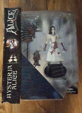 Diamond Select Alice Madness Returns Hysteria Alice Figure BLOODY VERSION Sealed