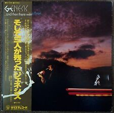 GENESIS / AND THEN THERE WERE THREE LP w/OBI Insert Gatefold Orig JAPAN ISSUE