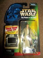 Star Wars POTF Han Solo Endor Gear Freeze Frame BRAND NEW!!