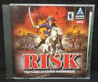 Risk Global Domination  - PC Game CD ROM Disc, Case Mint Disc, Manual