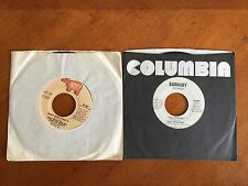 Set of 2 - 45 Records Comedy Novelty Hits - Disco Duck 1976 & The Streak 1974