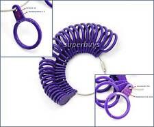 4 in 1 Australian A-Z US 0-13 Euro Diameter Finger Ring Sizer Size Gauge Tool