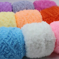 100g Chunky yarn Coral cashmere Velvet baby Hand Crochet knitting soft Yarn lot